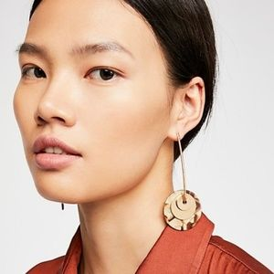 Free People Resin Pendulum Earrings